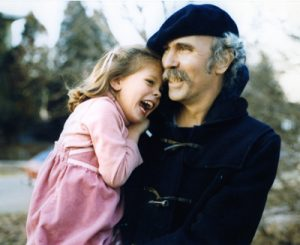 "A.E. ""Gene"" Havens with his daughter"